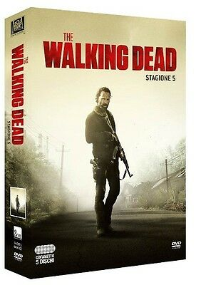 The Walking Dead - Stagione 5 - 5 Dvd - Cofanetto Nuovo, Italiano, Sigillato