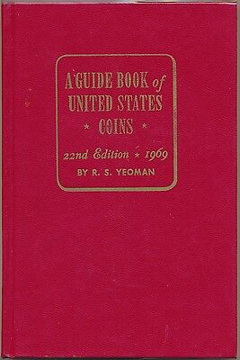 A Guide Book of United States Coins, 1969 22nd edition