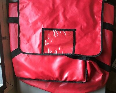 "Pizza Delivery Bag Nylon Insulated 18"" GREAT DEAL"