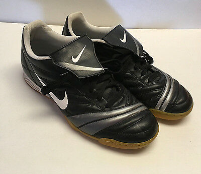 NIKE MENS Black White Shoes Athletic 316745-011 Size 11 US 10UK