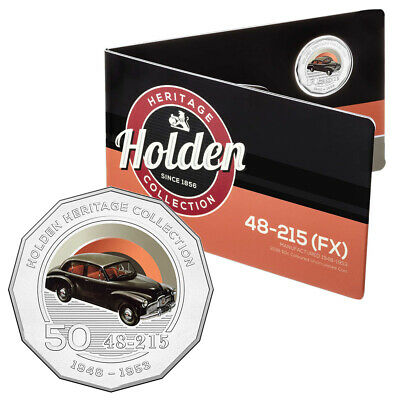 NEW RA Mint Holden Heritage 48-215 (FX) 2016 50 Cent Coin Pack