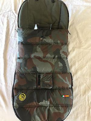 Diesel Bugaboo Camo Footmuff For Stroller Baby Camouflage Brand New