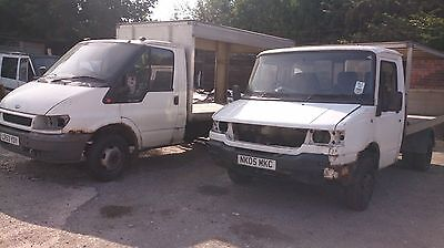 Ford Transit T350 & Ldv 400 Milk Floats For Spares With Full V5's
