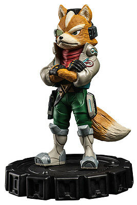 Star Fox Limited Edition Fox McCloud Stone Statue new sold out rare