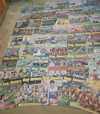 52 x ROY OF THE ROVERS from 1988