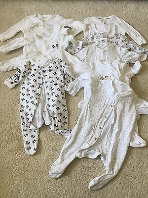 Baby Grows 0-3 Months Neutral Boys Girls