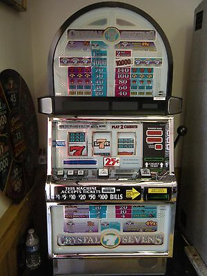 "Igt S2000 ""crystal Sevens"" Slot Machine (Coinless) Ticket Printer"