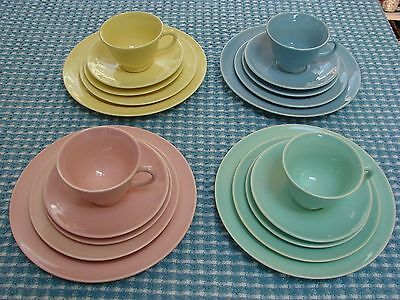Taylor Smith Taylor Luray Beautiful Pastels 4 - 5 Piece Dinner Servings Complete