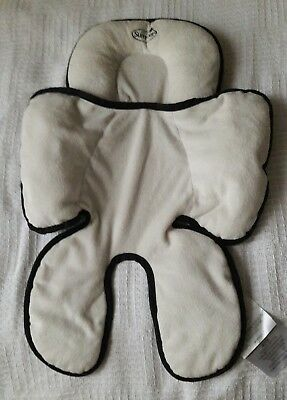 Summer Infant Snuzzler Head & Body Support ~Car Seats and Strollers, Black Ivory