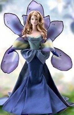 Barbie The Iris Collector Doll - 4th in Flowers in Fashion Series