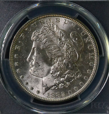 1882-S $1 Morgan Silver Dollar Uncirculated PCGS MS 64 83964238