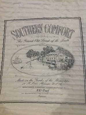 Vintage Rare Southern Comfort Tapestry -48 x48 Mint , Never put up