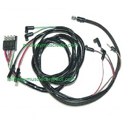65 ford mustang v8 engine gauge feed wiring harness 1965 260 289 rh picclick com GM Electrical Connectors GM Wire Connectors