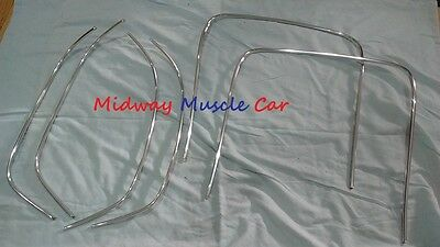 69-72 bucket seat chrome trim Chevy Chevelle GS Cutlass skylark Pontiac GTO 442