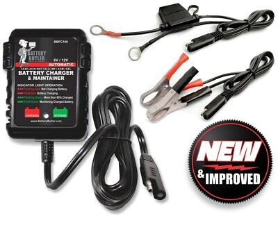 Battery Butler 12 volt automatic storage tender charger w/free ship & warranty