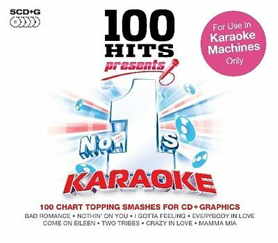 No.1's Karaoke With On Screen Lyrics New 5 Cd G 100 Songs For Karaoke Machines