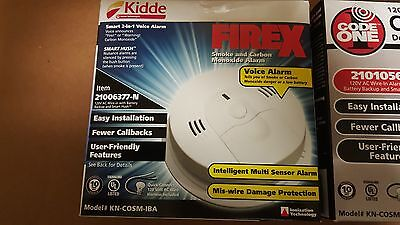 Smoke detector alarm and monoxide carbon FIREX Battery and Wire Warranty10 year