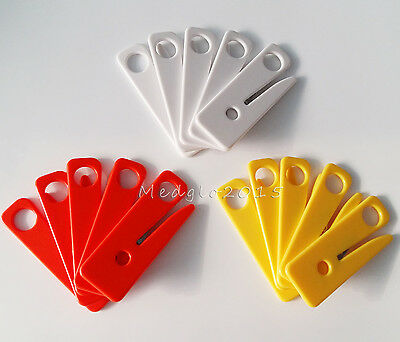 30 Pcs Elysaid Seatbelt Cutter  Seat Belt Cutter Safety Knife Sharp 3 Color