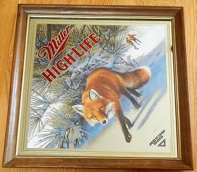 Miller High Life Mirror Beer Sign - The SLY (Fox 1995)