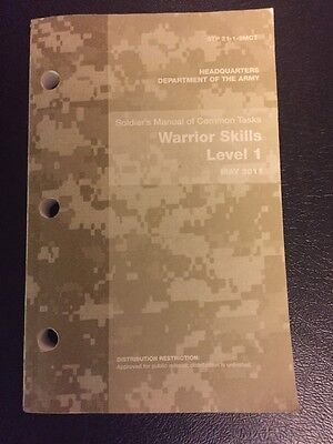 Soldiers Manual Warrior Skills Level 1