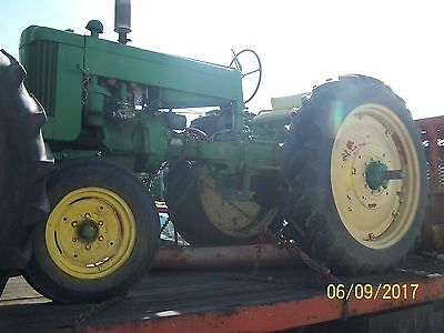 Jd John Deere 420T With Wide Front Tractor