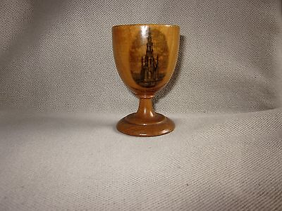 Abbotsford Mauchline Egg Cup Sir Walter Scott's Monument Edinburgh