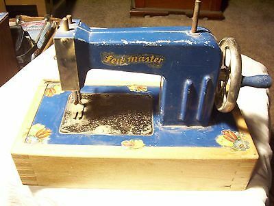 Vintage Sew Master Child's Sewing Machine . Made In Berlin, Germany ,us Zone