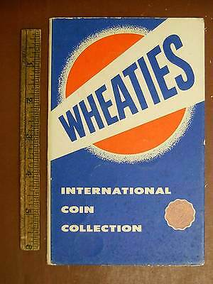 1950's Wheaties International Coin Collection Cereal Premium