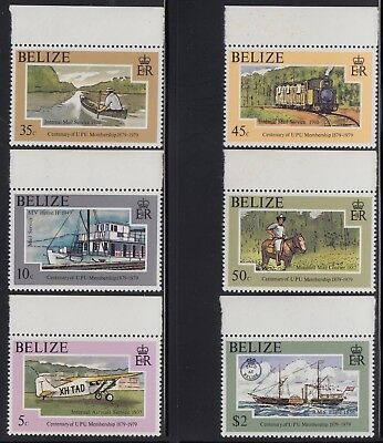 Belize 1979 UPU set, mnh