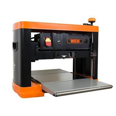 WEN 15 Amp 13 in. 3-Blade Benchtop Corded Thickness Planer 6552