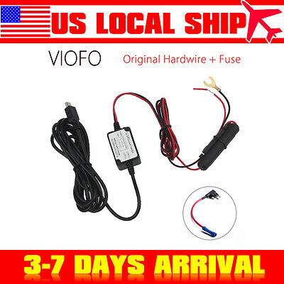 Original Viofo Car Dash Camera Hard Wire Adapter+Fuse Kit For A119 A119S A118