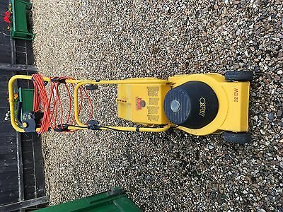 Alko Electric Lawn Mower Good working order with grass box