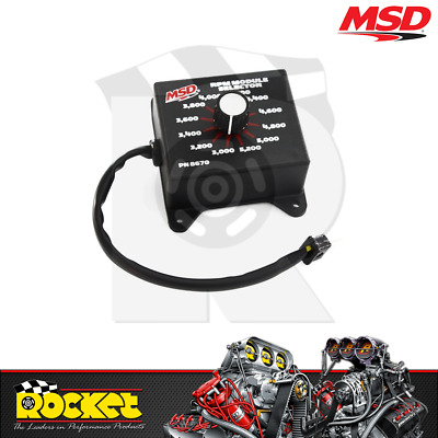 MSD Ignition 8670 RPM Module Selector