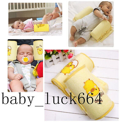 Infant Newborn Baby Head Support Cot Pillow Prevent Flat Head Sleep Positioner