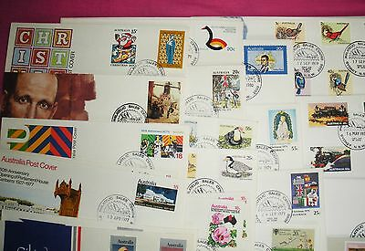 Australian Stamps First Day Covers & Mixed Sets & Some English