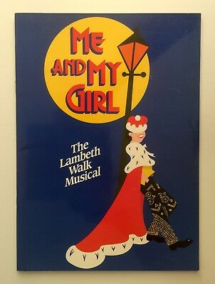 Me And My Girl 1985 Theatre Programme David Waters Julie Haseler Ray Shand