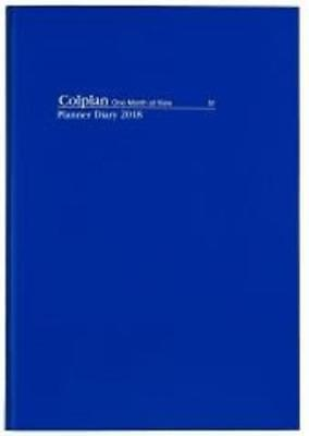 PROMO Collins Debden Colplan A4 Month to View Planner Diary 2018  51.C59-18