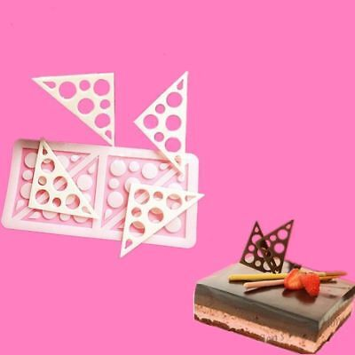 Triangle Silicone Fondant Chocolate Candy Cake Decorating Sugarcraft Mold Tools