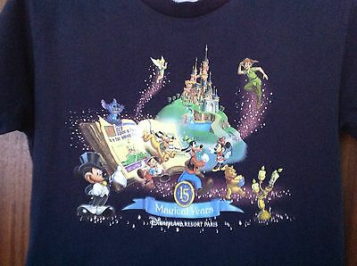 "Disney ""15 Magical Years"" T-shirt Age 8"