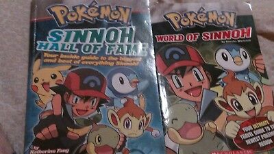 Set of 2 Pokemon chapter books