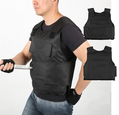 Anti Stab Vest Stabproof Anti-knifed Security Defense Body Armour Men Vest WS