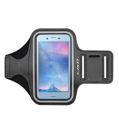 J&D Sony Xperia XZs Sport Armband with Keyholder Slot & Earphone Connection