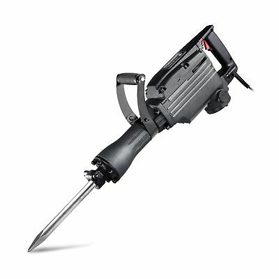 Neiko 02845A Electric Demolition Jack Hammer with Point and Flat Chisel Bits ...