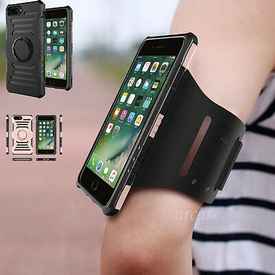 Fr Galaxy S8/S8+, iPhone 8 7 + Armband Case Sports GYM Running Exercise Arm Band