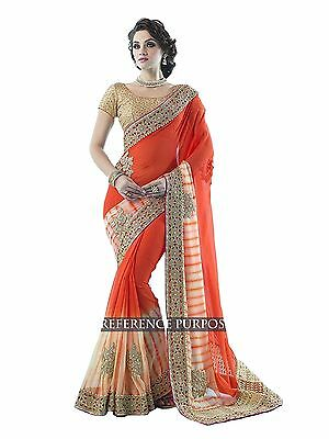 indian ethnic sarees for  georgette woman party wear bollywood sari 1503 VF