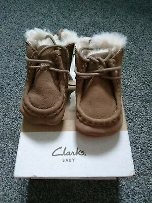 Clarks Baby Shoes Size 0 (6-9m)
