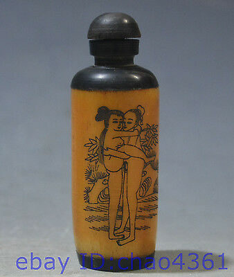 China hand-made Hand carved snuff bottle *56