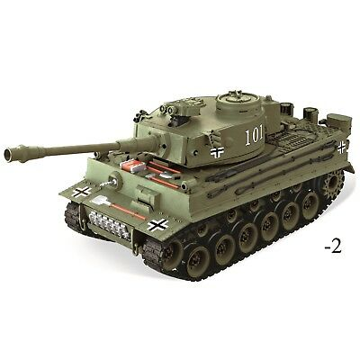 New Radio Remote Control 1:20 German Tiger Sounds RC Tank BB Shooting Big battle