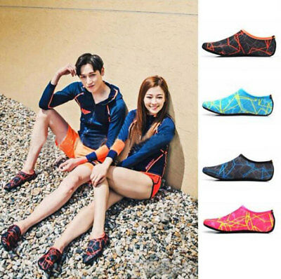 Men Women Water Skin Shoes Aqua Socks Diving Wetsuit Non-slip Swimming Beach