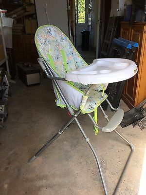 babies high chair - very good condition, only used occasionally